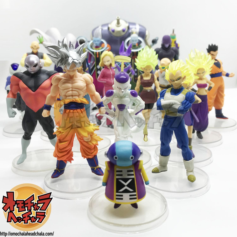 ドラゴンボールフィギュアレビューブログのプレミアムHGシリーズまとめ