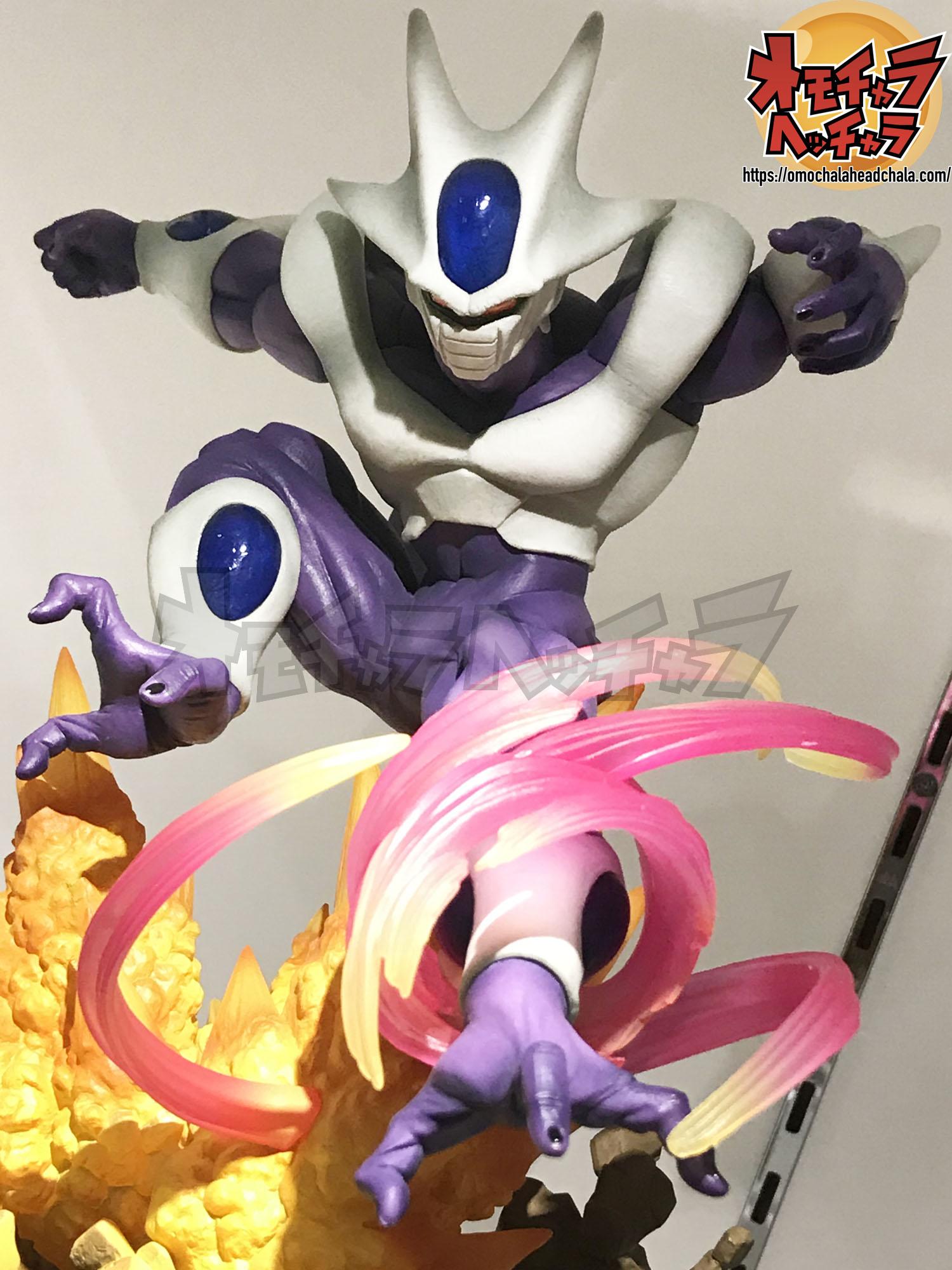 ドラゴンボールフィギュアレビューブログの超激戦フィギュアーツZEROのクウラ -最終形態-