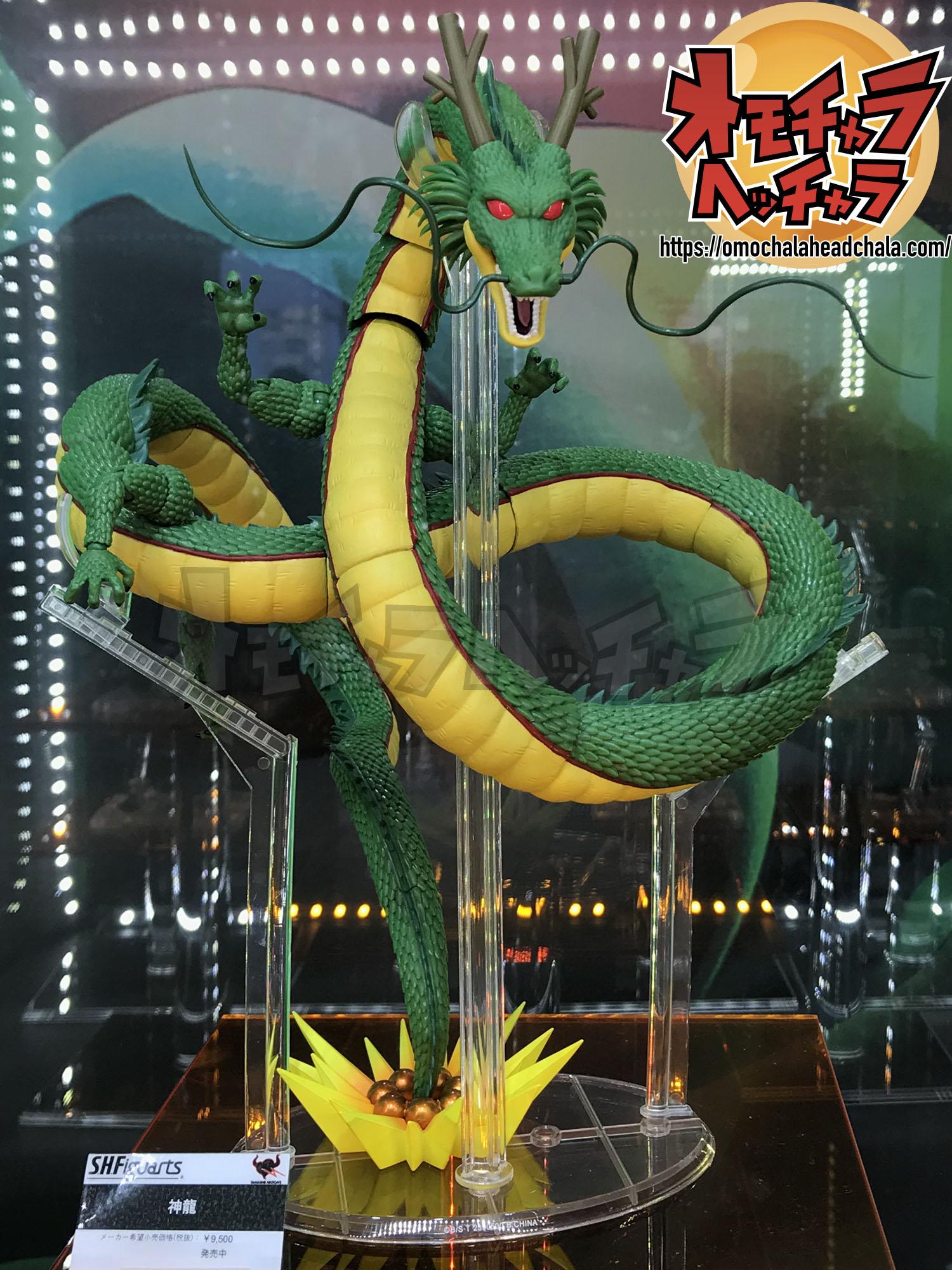 ドラゴンボールフィギュアレビューブログのS.H.Figuarts神龍展示品