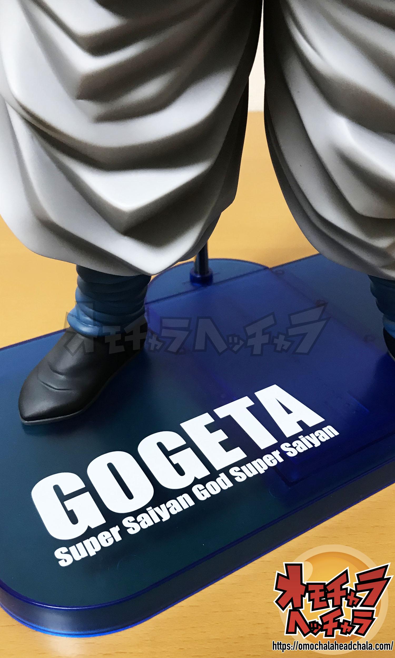 ドラゴンボールフィギュアブログのギガンティックシリーズブルーゴジータレビュー