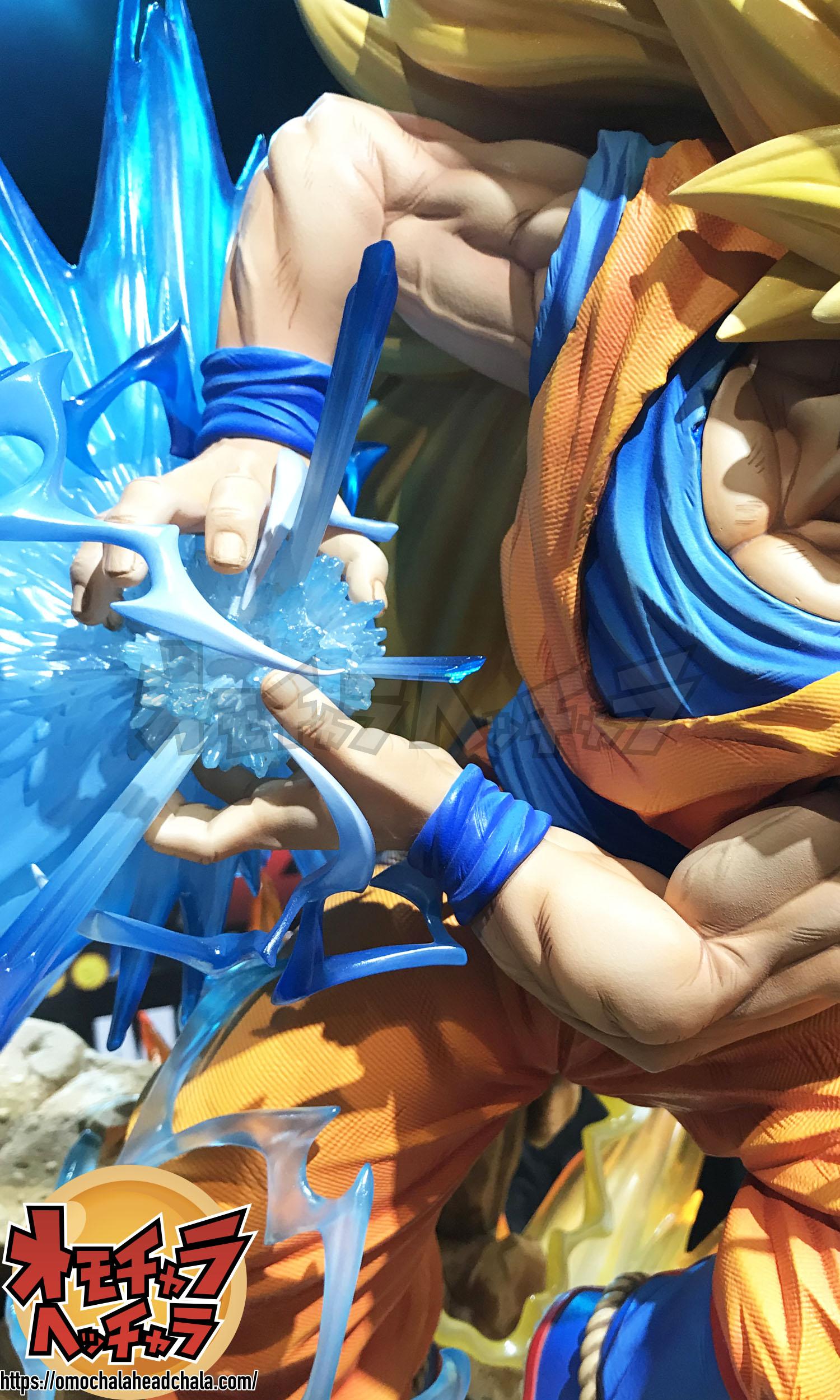 ドラゴンボールフィギュアレビューブログのPrime1Studio(プライムワンスタジオ)×MegaHouse(メガハウス)超サイヤ人3孫悟空