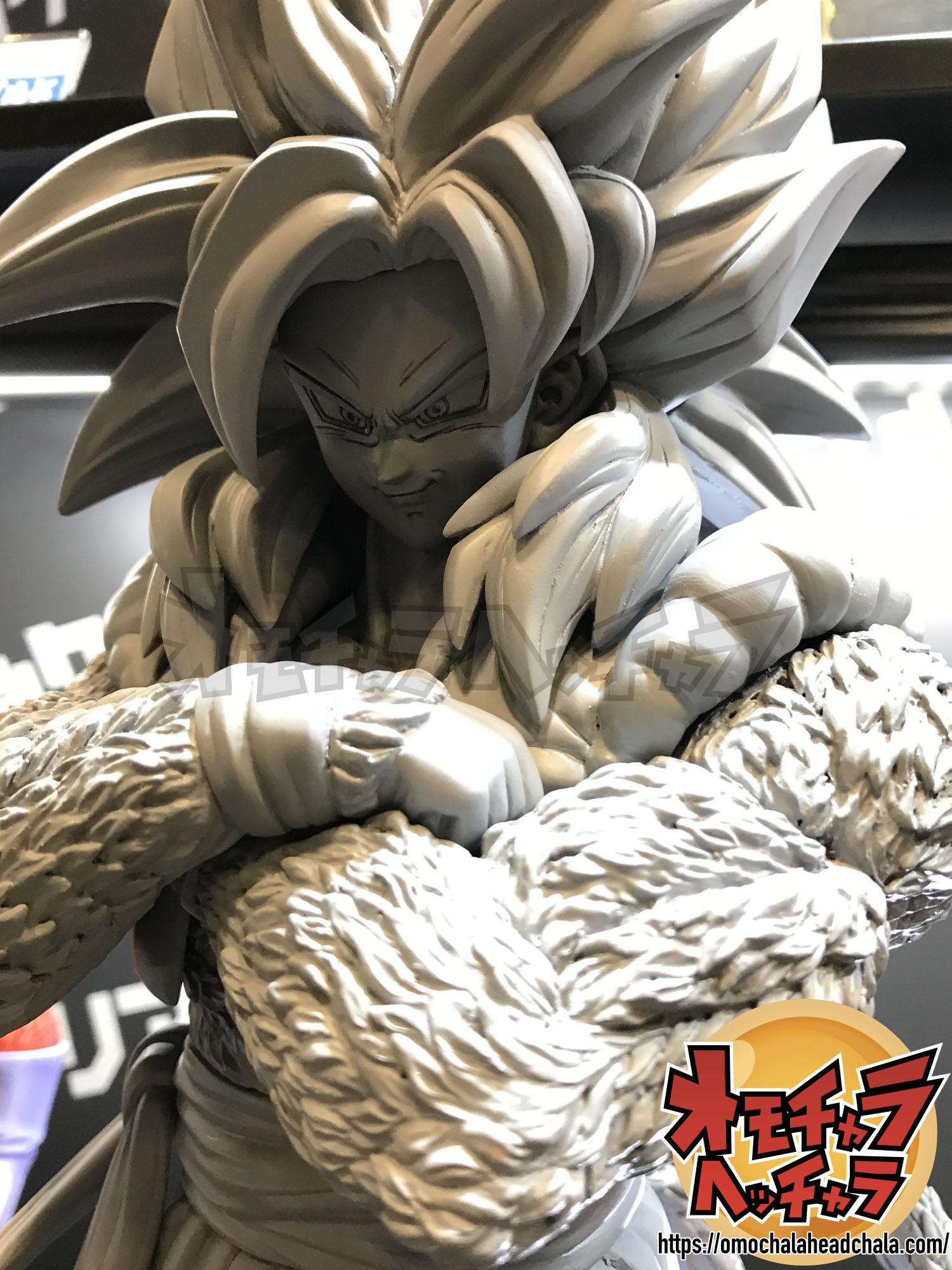 ドラゴンボールフィギュアレビューブログのギガンティックシリーズの超サイヤ人4ゴジータ