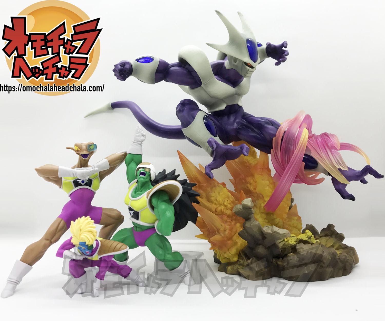 ドラゴンボールフィギュアレビューブログのフィギュアーツZERO クウラ-最終形態-とHGシリーズのクウラ機甲戦隊