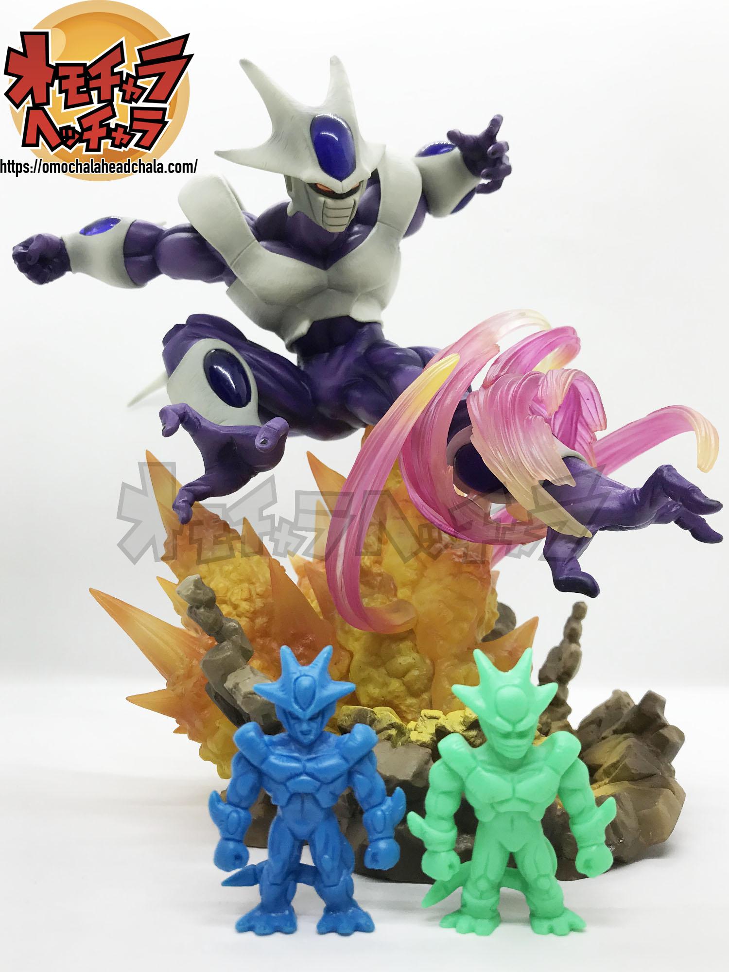 ドラゴンボールフィギュアレビューブログのフィギュアーツZERO クウラ-最終形態-とドラ消し