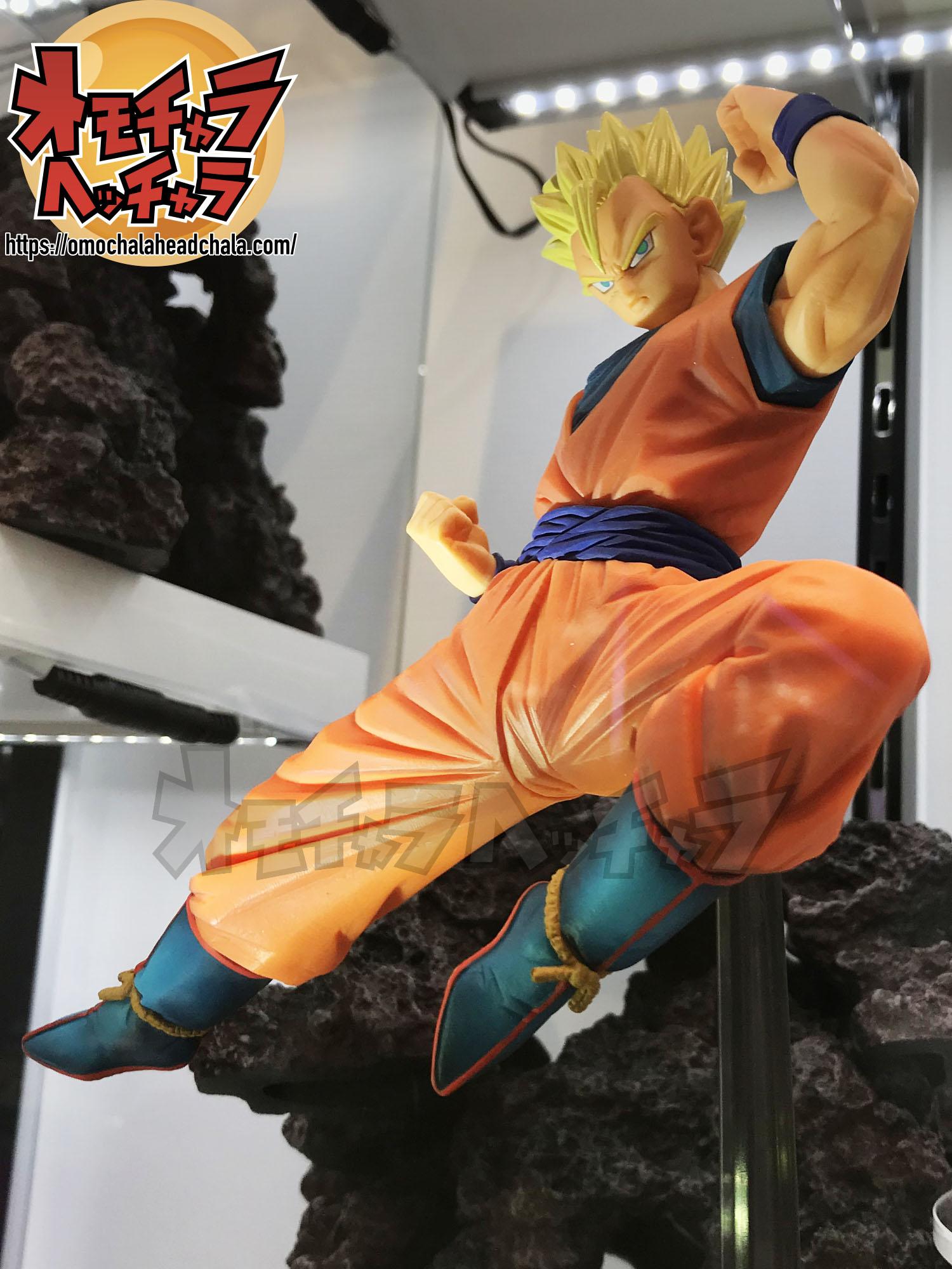 ドラゴンボールフィギュアレビューブログの超戦士列伝~第四章 最強の親子~超サイヤ人孫悟飯:青年