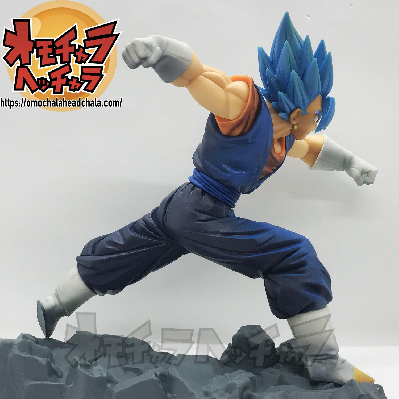 ドラゴンボールフィギュアレビューブログのDOKKAN BATTLE COLLAB(ドッカンバトルコラボ)-超サイヤ人ゴッド超サイヤ人/超サイヤ人ブルー/SSGSSベジット-