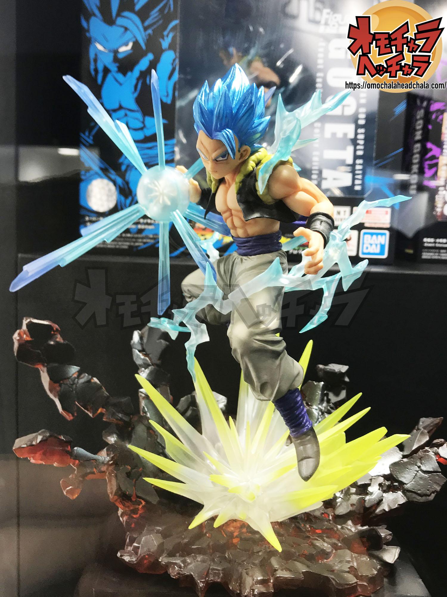 ドラゴンボールフィギュアレビューブログの魂ネイション2019海外イベント限定フィギュアーツZERO超サイヤ人ブルー(SSGSS)ゴジータ-Event Exclusive Color Edition-