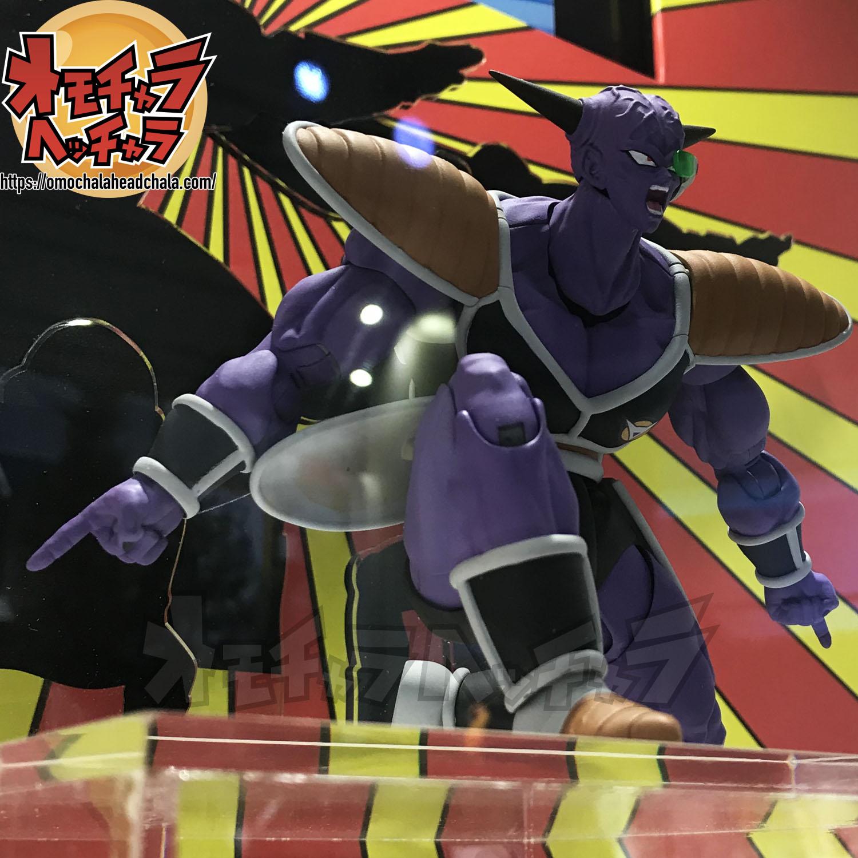 ドラゴンボールフィギュアレビューブログの魂ネイション2019S.H.Figuartsギニュー特戦隊ギニュー隊長