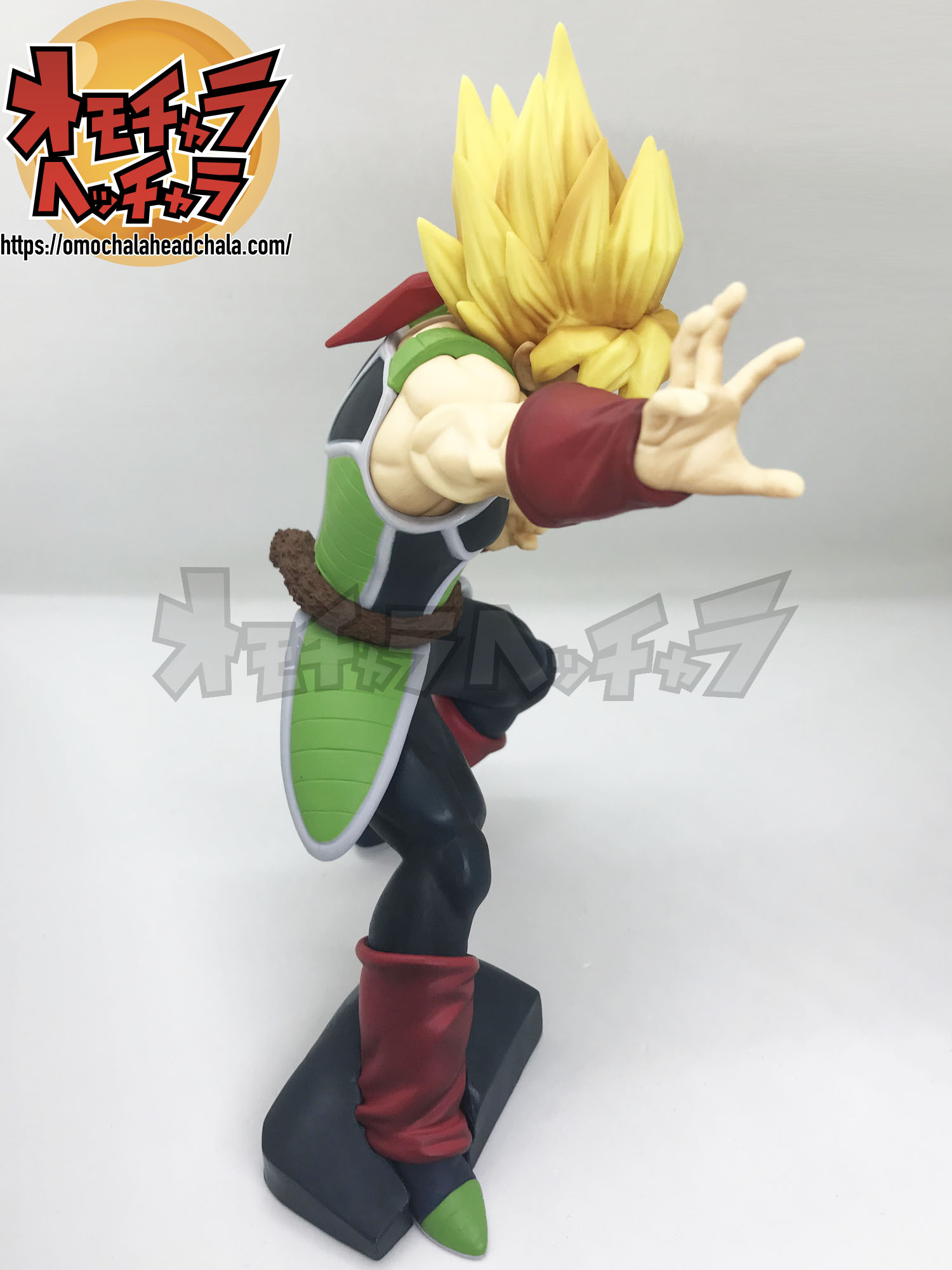 ドラゴンボールフィギュアレビューブログの名高き下級戦士超サイヤ人バーダック
