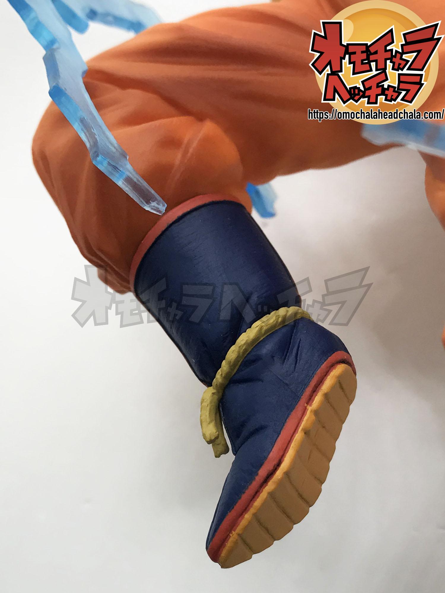 ドラゴンボールフィギュアレビューブログのDRAGONBALL Z DOKKAN BATTLE COLLAB(ドッカンバトルコラボ)-超サイヤ人2孫悟空(天使)-