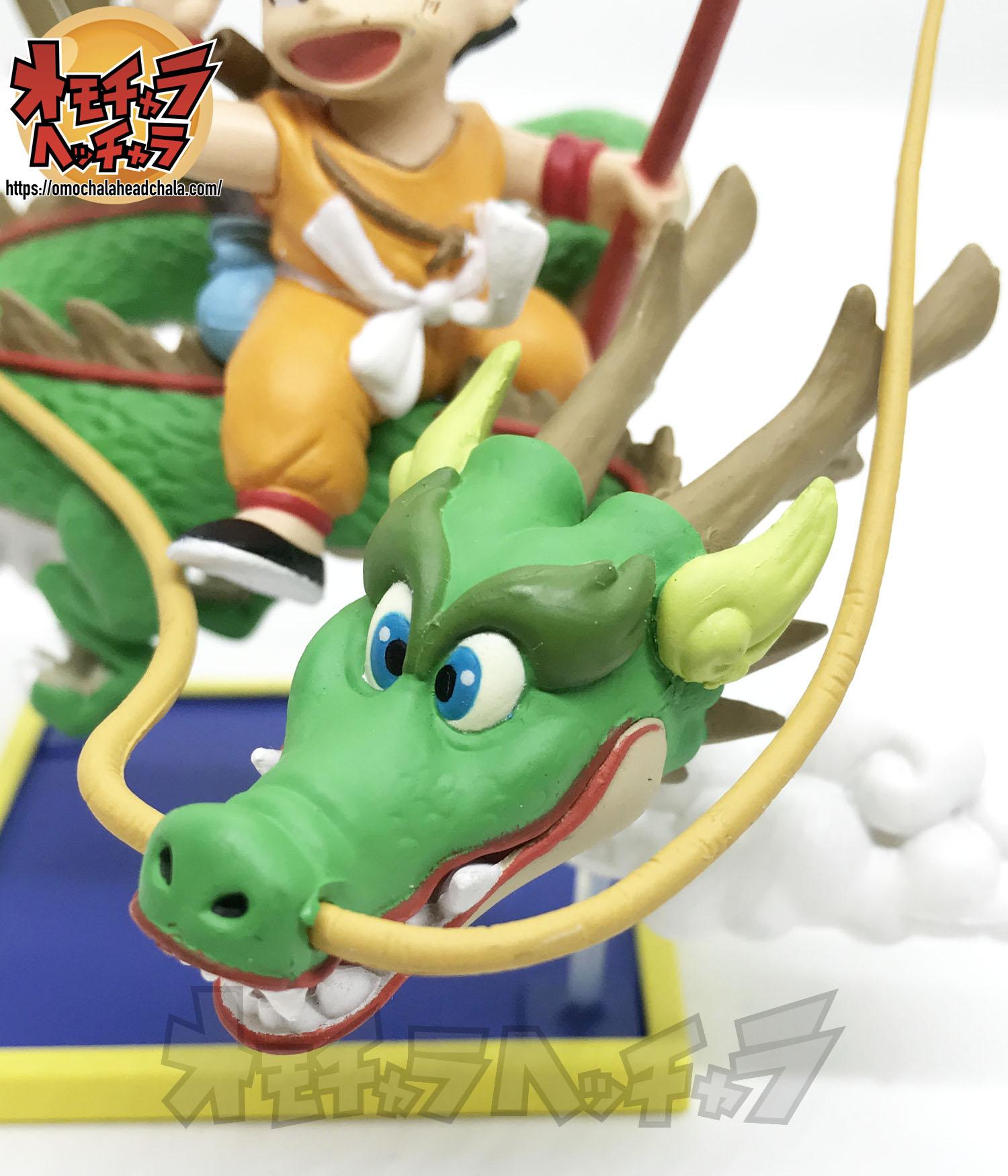 「ドラゴンボール ミュージアムコレクション1 孫悟空×神龍(DB1巻表紙イラスト)」をレビュー