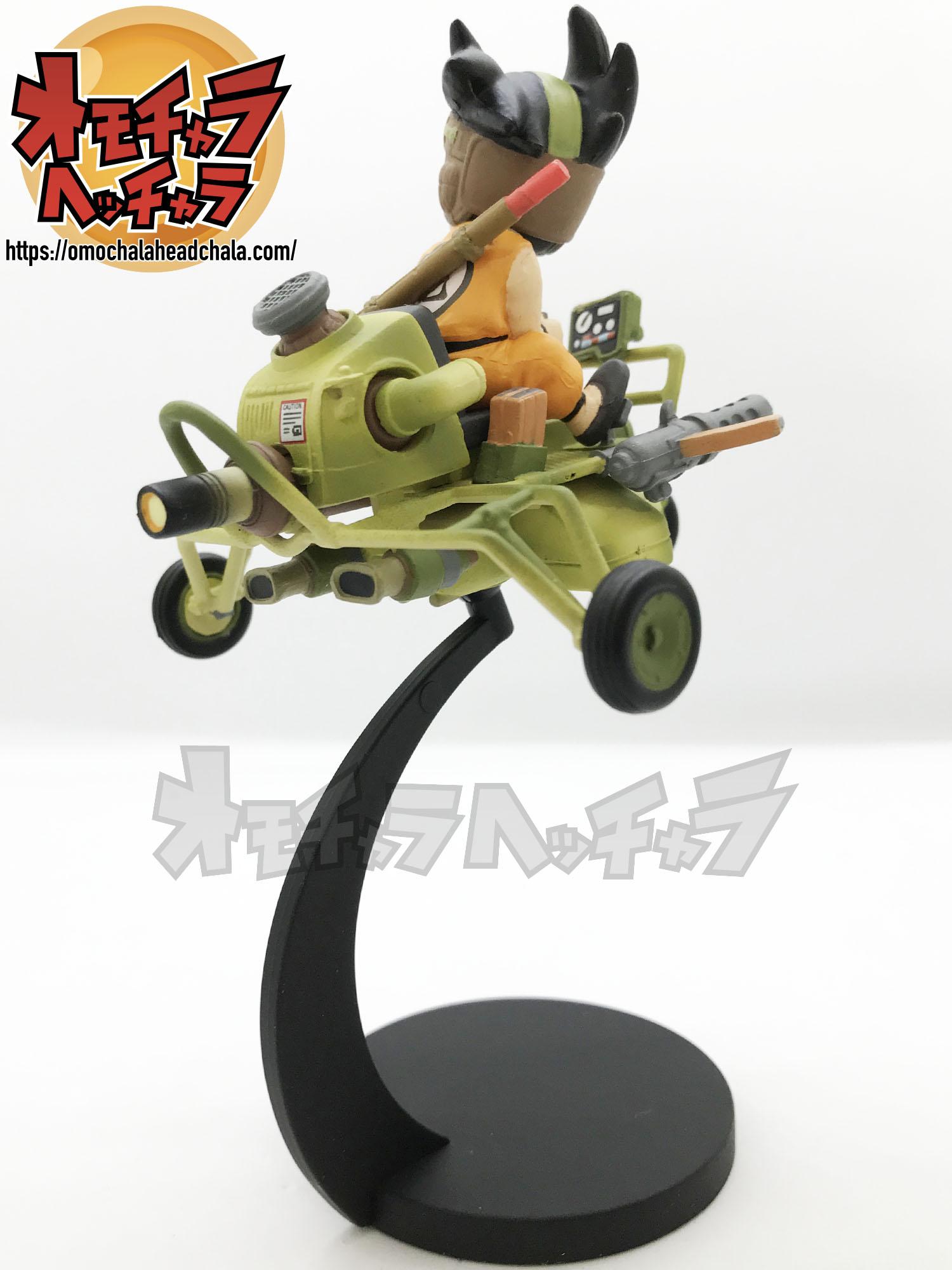ドラゴンボール ミュージアムコレクション2 孫悟空×バギー(DB4巻表紙イラスト)