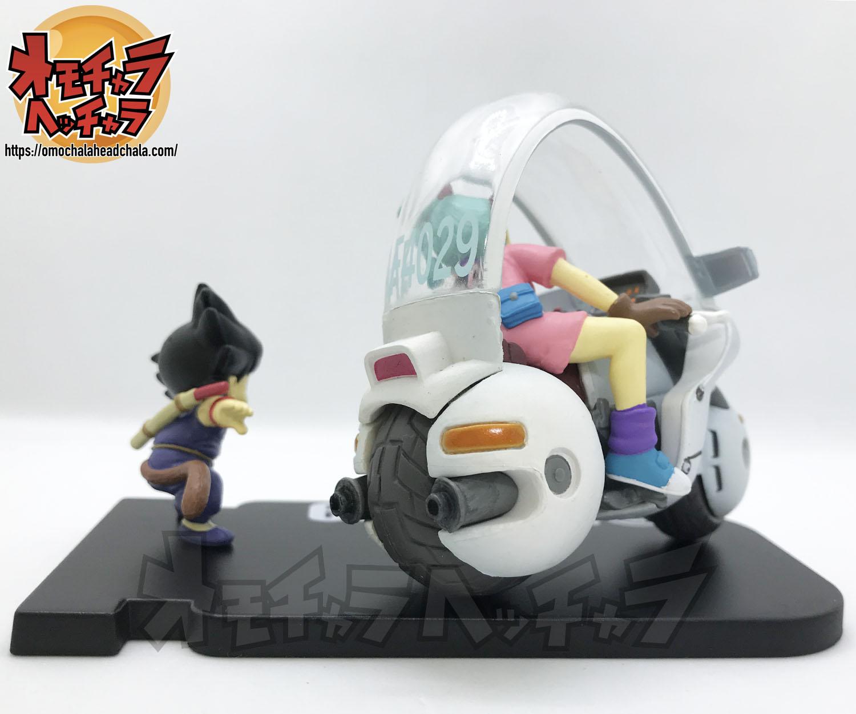ドラゴンボール ミュージアムコレクション4 ブルマ×バイク(-ホイポイカプセル No.9-)